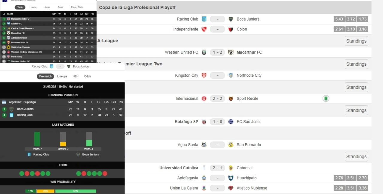 zonalfootball livescores and stats